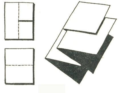 Как сделать из бумаги трюк 797
