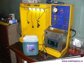 Тестирование форсунок на производительность тестовыми жидкостями на стендах, проверка форсунок на стедах тестирующими и тестовыми жидкостями, купить тестовые жидкости для стендов с доставкой