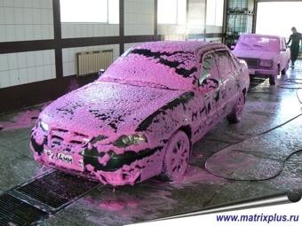 Технология бесконтактной мойки автомобилей, купить активную пену в Саратове, как отмыть активной пеной автомобиль, технология бесконтактной мойки автомобилей и грузовых машин