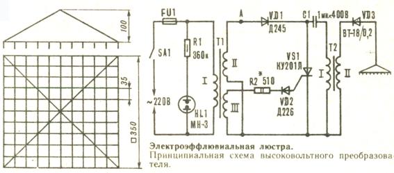 Как сделать люстру Чижевского