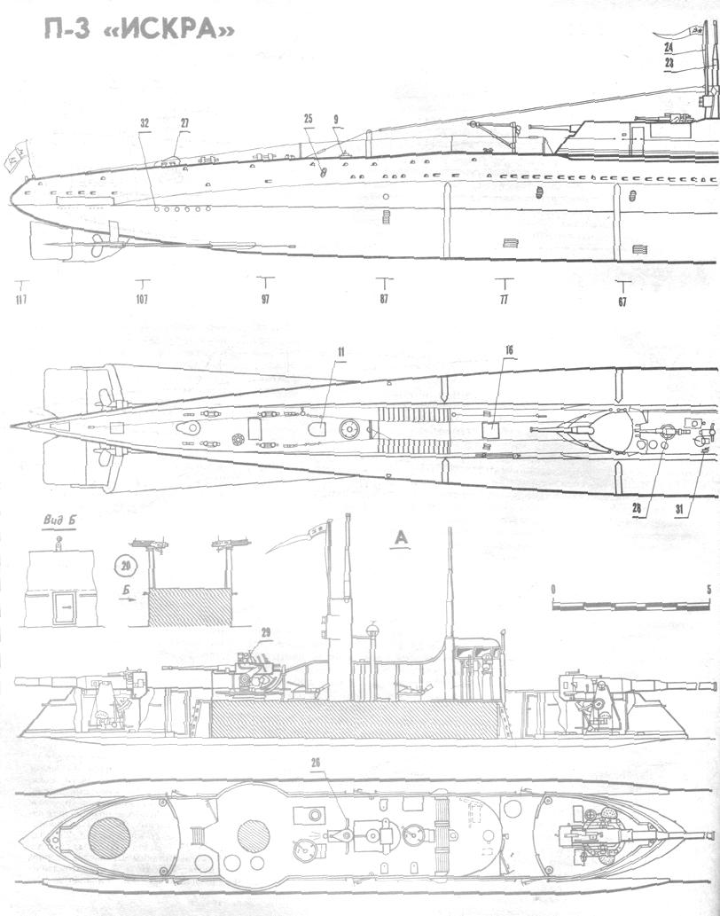 Подводная лодка своими руками чертежи к ней 517